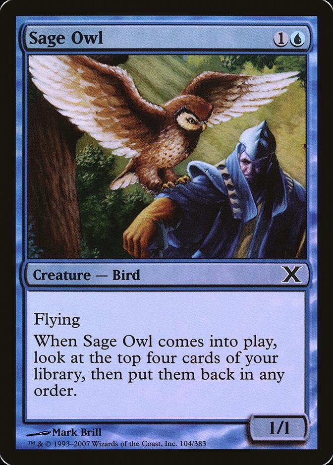 Sage Owl [10E] (F)