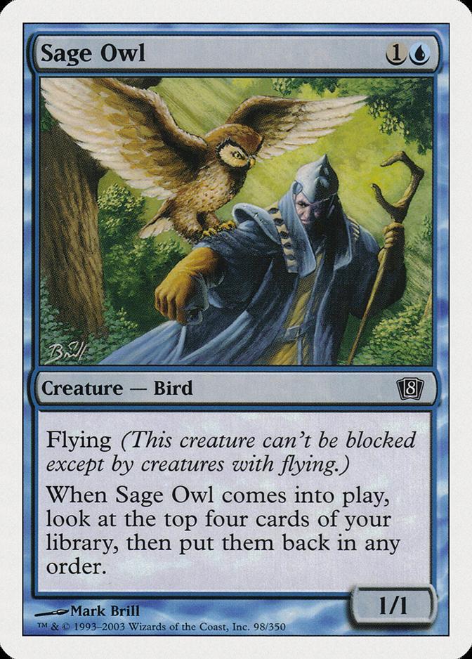 Sage Owl [8ED]