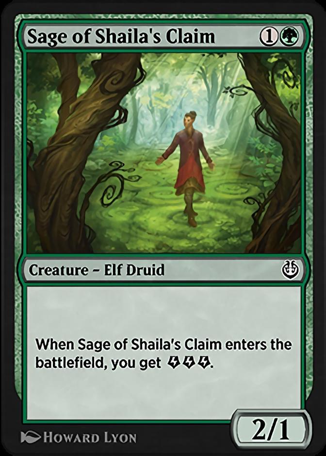 Sage of Shaila's Claim [KLR]