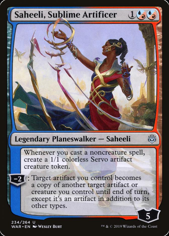 Saheeli, Sublime Artificer [WAR]
