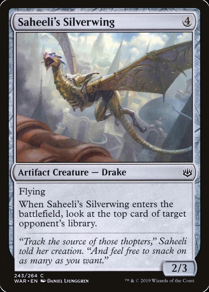 Saheeli's Silverwing [WAR]