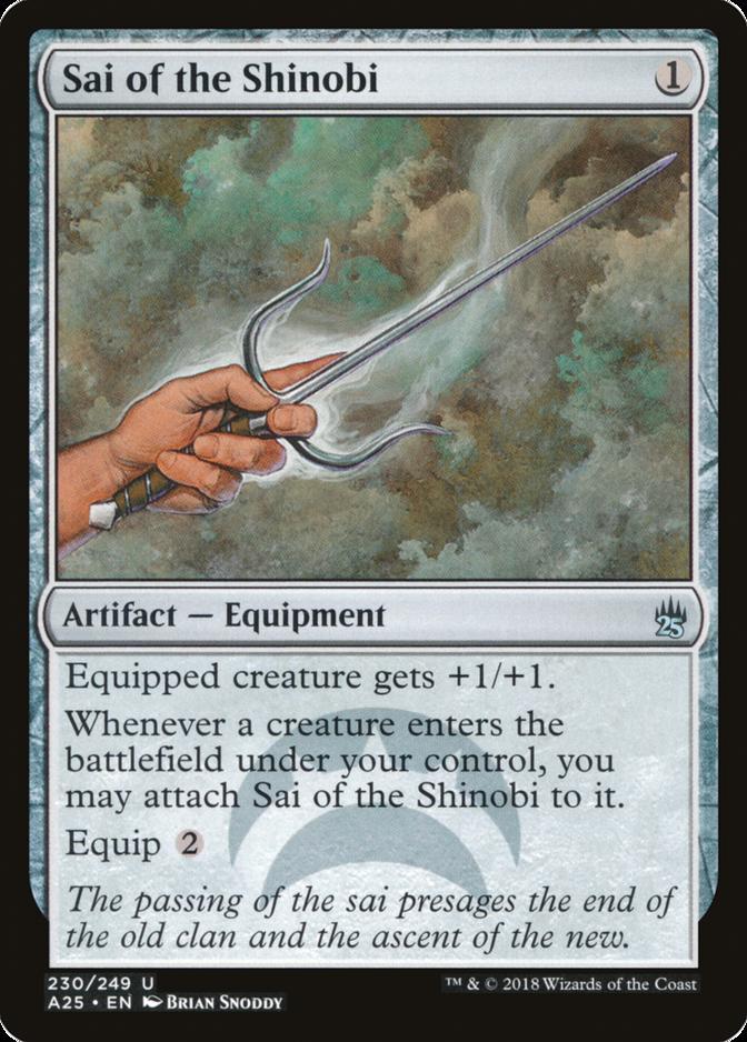 Sai of the Shinobi [A25]