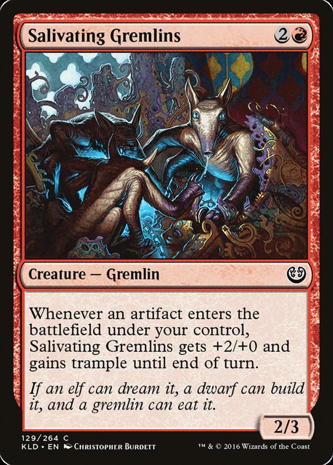 Salivating Gremlins [KLD]