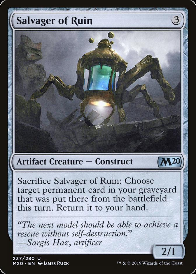 Salvager of Ruin [M20]