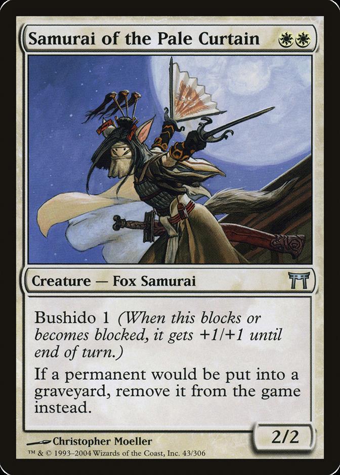 Samurai of the Pale Curtain [CHK]