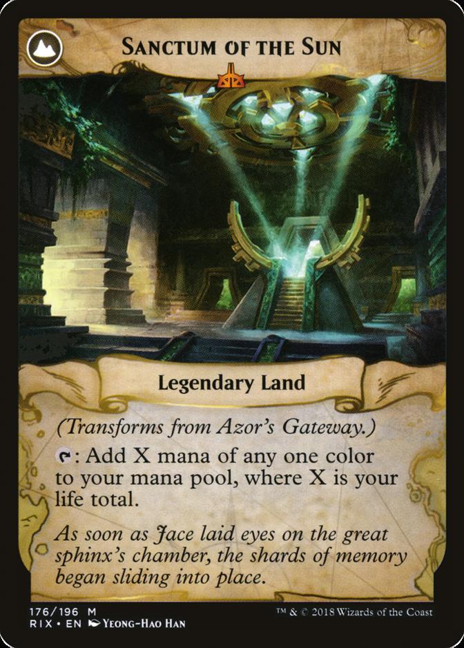 Sanctum of the Sun [RIX]