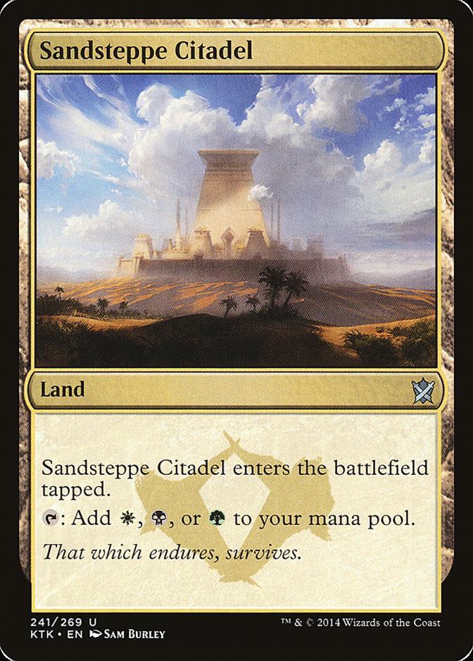 Sandsteppe Citadel [KTK] (F)