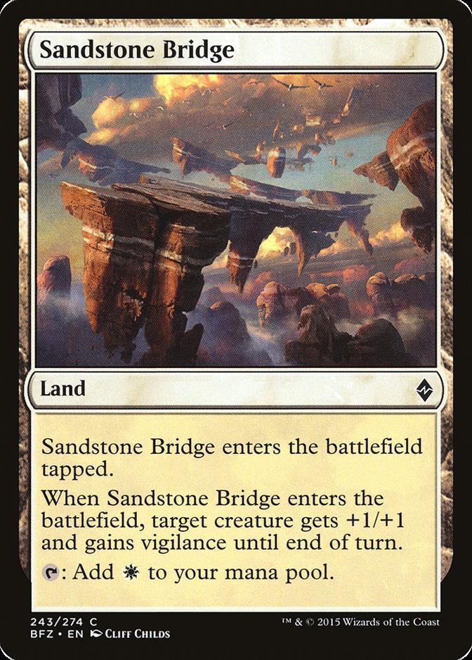 Sandstone Bridge [BFZ] (F)