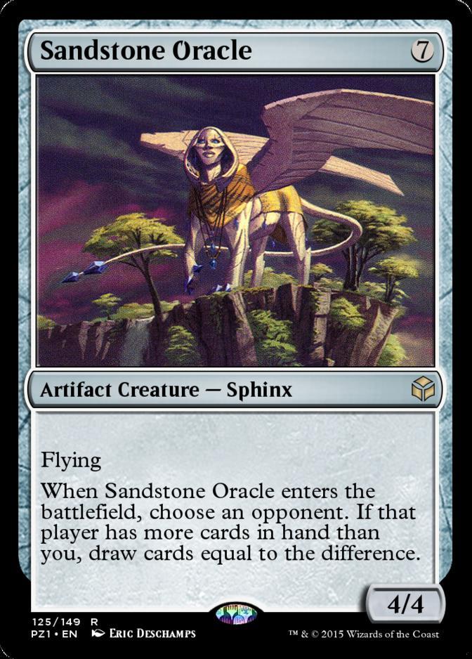 Sandstone Oracle [PZ1] (F)
