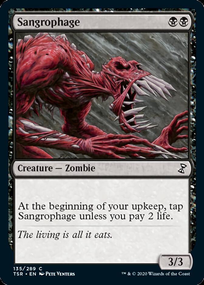 Sangrophage [TSR]
