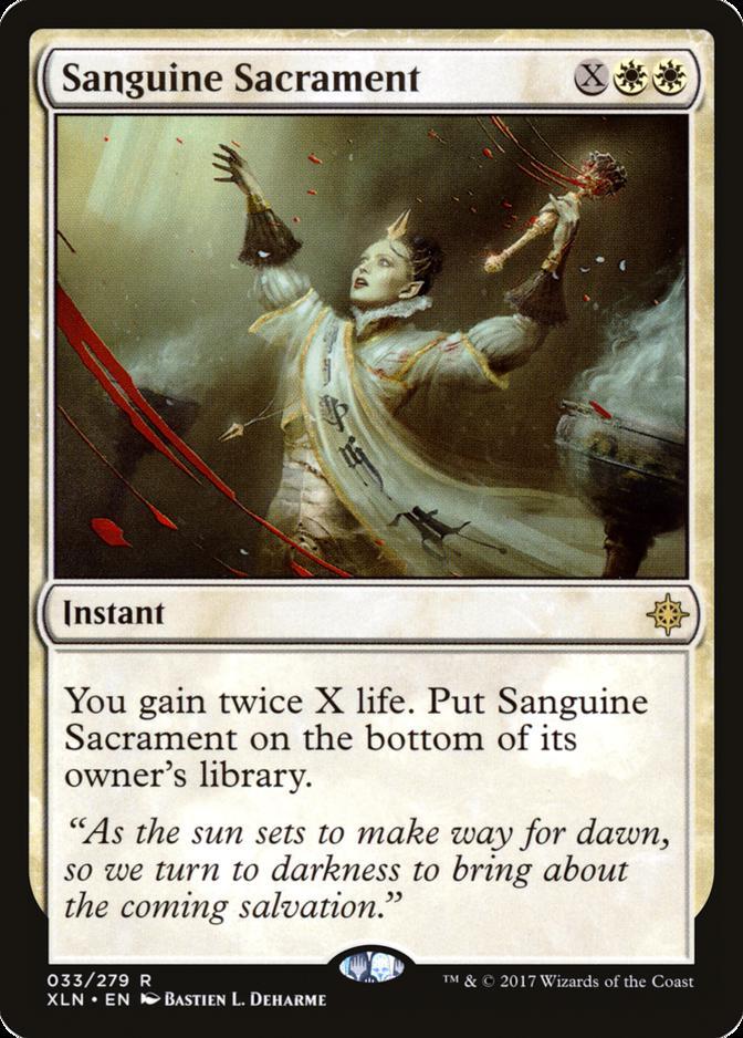 Sanguine Sacrament [XLN]