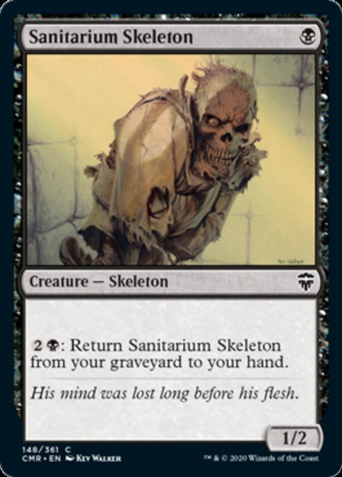 Sanitarium Skeleton [CMR]