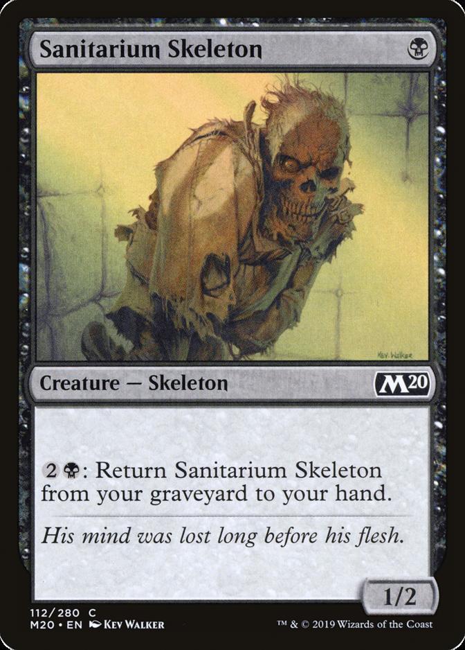 Sanitarium Skeleton [M20] (F)