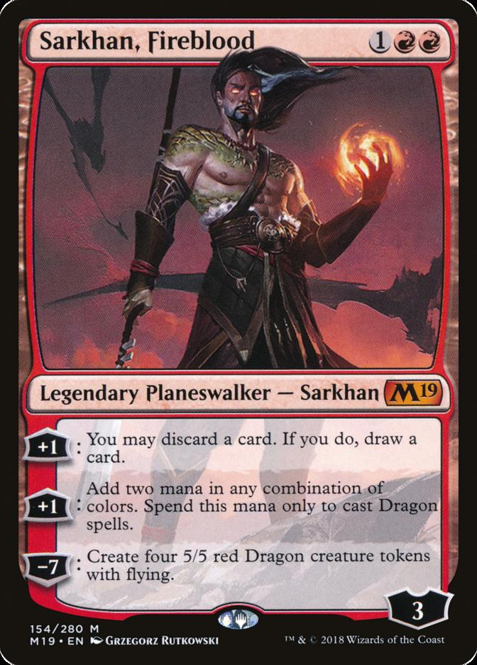 Sarkhan, Fireblood [M19]