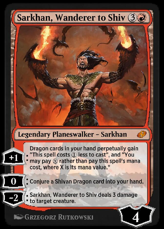 Sarkhan, Wanderer to Shiv [J21]