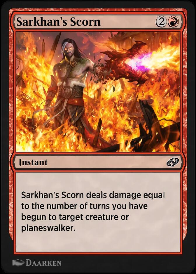 Sarkhan's Scorn [J21]