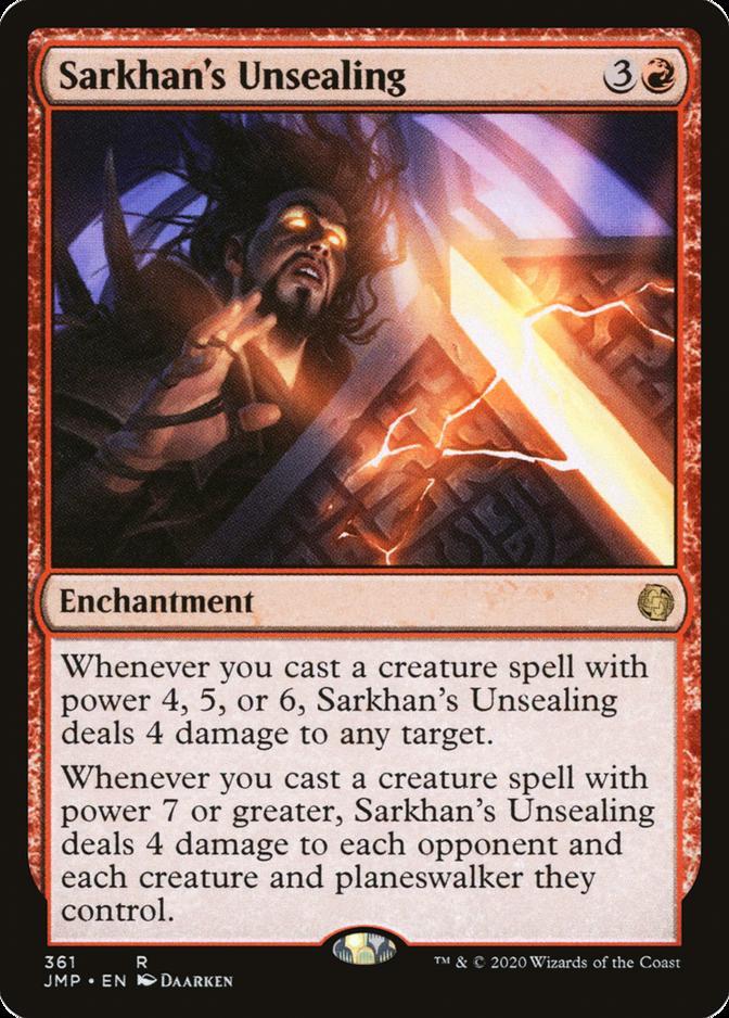 Sarkhan's Unsealing [JMP]