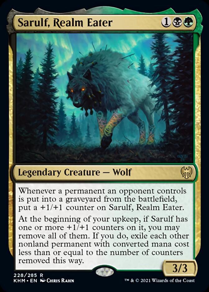 Sarulf, Realm Eater [KHM]