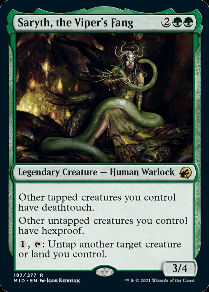 Saryth, the Viper's Fang [MID]