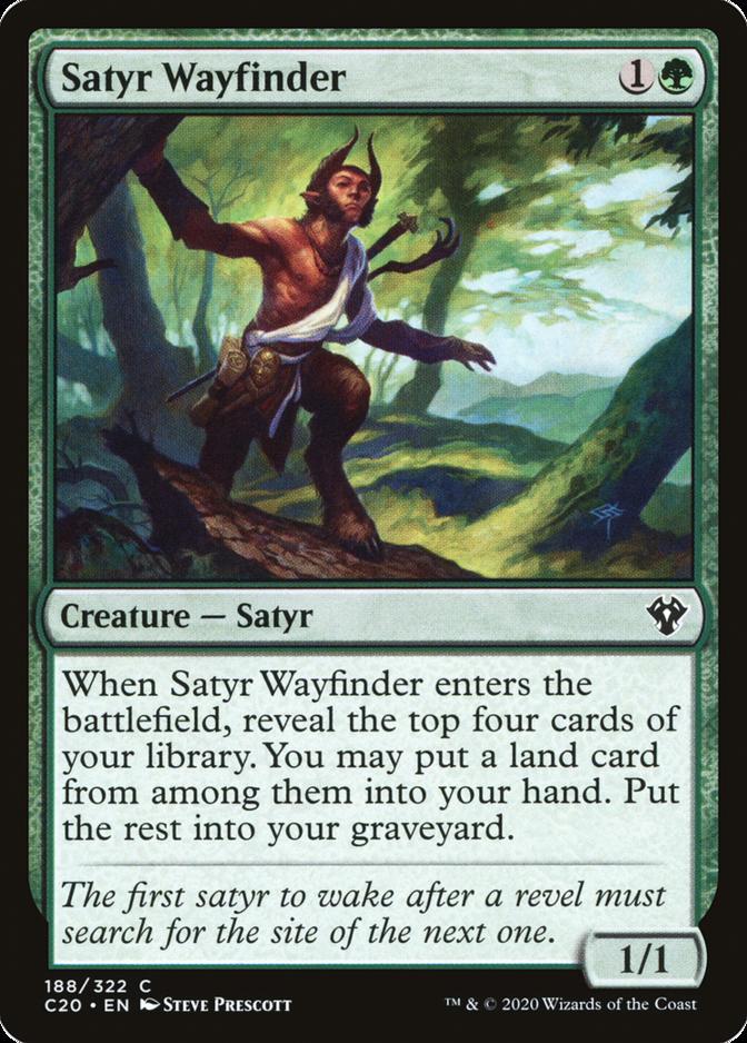 Satyr Wayfinder [C20]