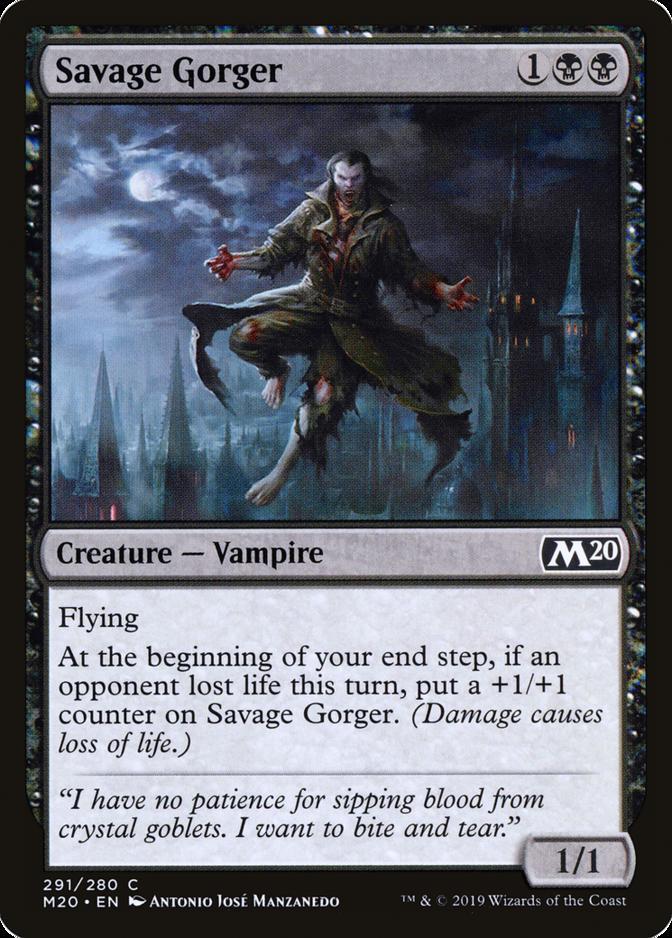 Savage Gorger [M20]