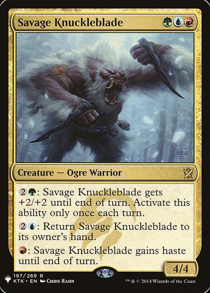 Savage Knuckleblade [MB1]