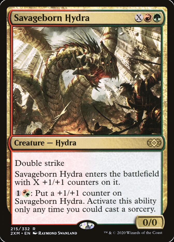 Savageborn Hydra [2XM]