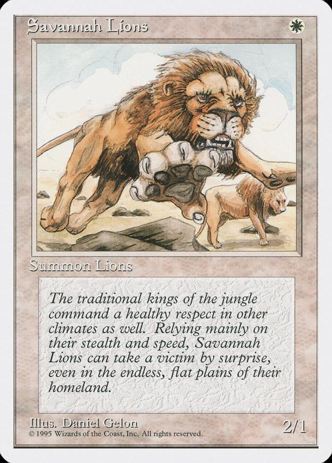 Savannah Lions [4ED]
