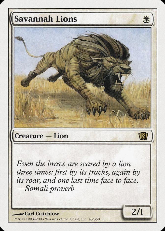 Savannah Lions [8ED]