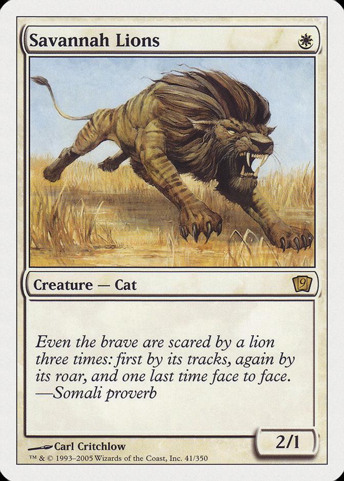 Savannah Lions [9ED]