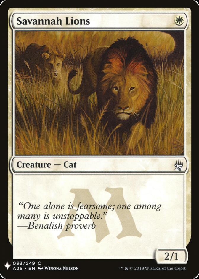 Savannah Lions [MB1]