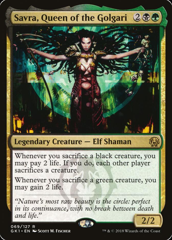 Savra, Queen of the Golgari [GK1]