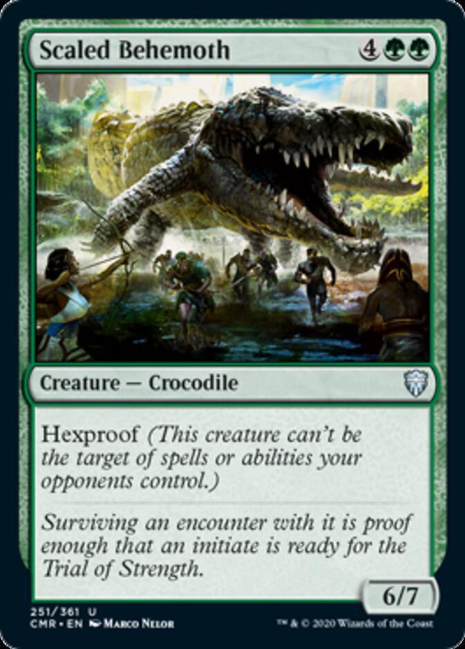 Scaled Behemoth [CMR]