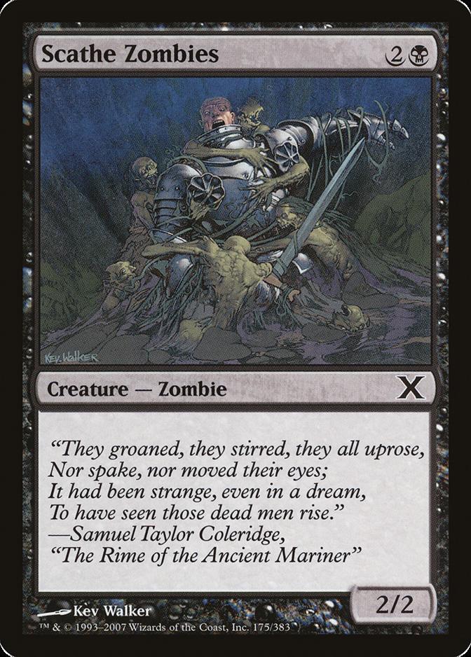 Scathe Zombies [10E]