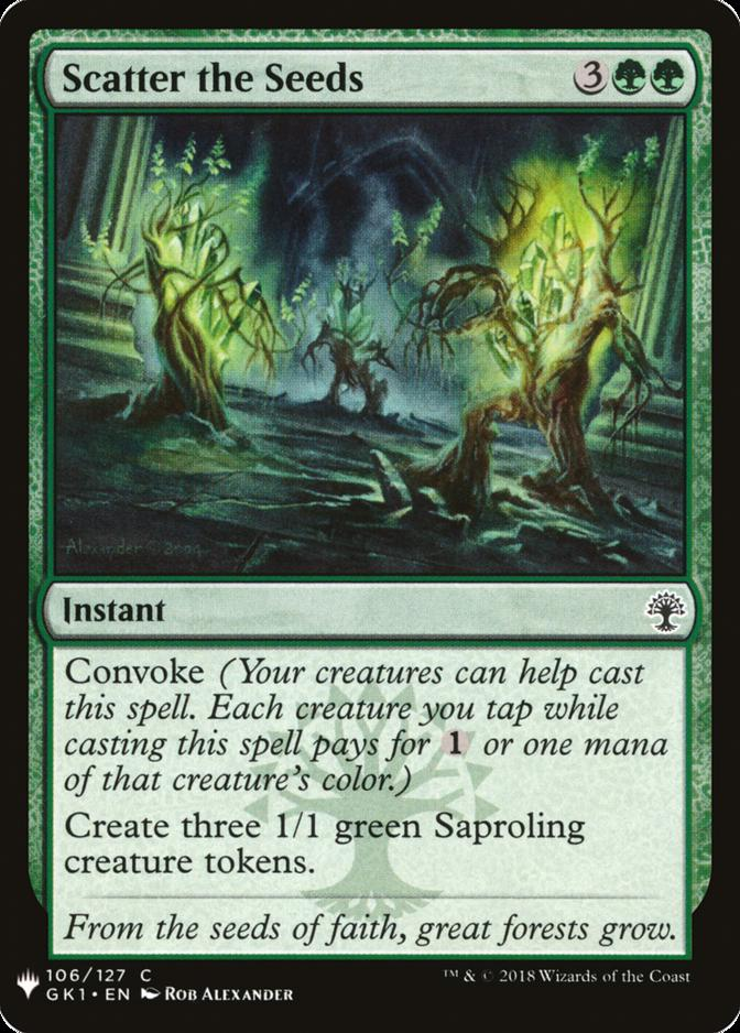 Scatter the Seeds [MB1]