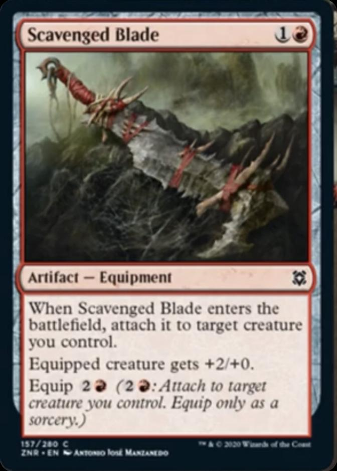 Scavenged Blade [ZNR]