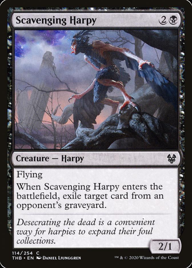 Scavenging Harpy [THB]