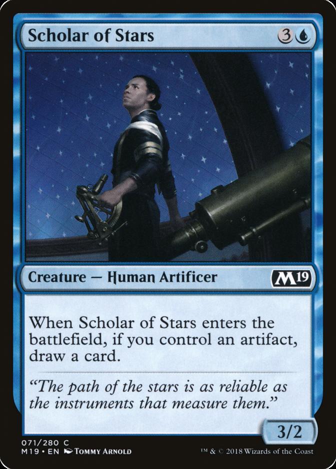 Scholar of Stars [M19]
