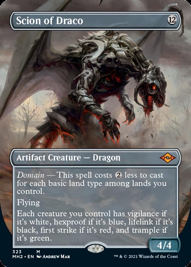 Scion of Draco <borderless> [MH2]