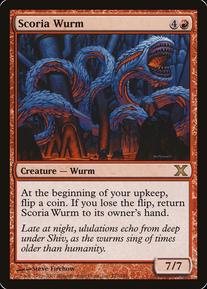 Scoria Wurm [10E] (F)