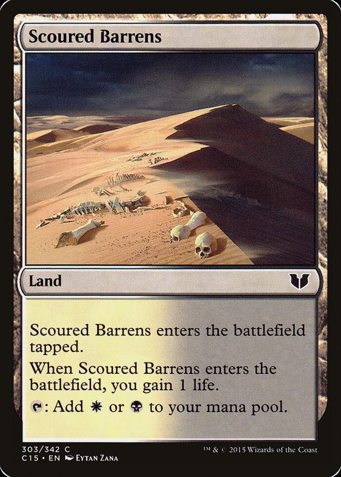 Scoured Barrens [C15]