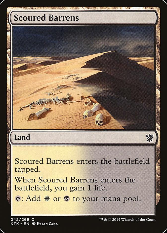 Scoured Barrens [KTK] (F)
