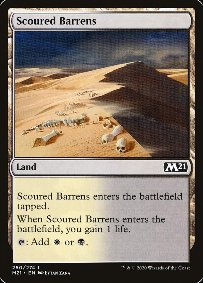 Scoured Barrens [M21]