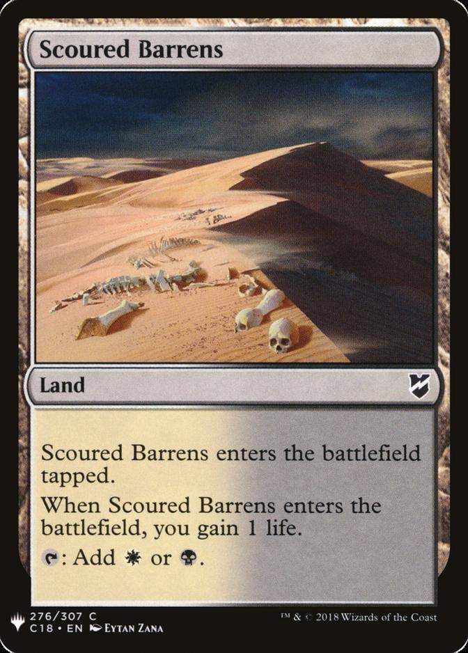 Scoured Barrens [MB1]
