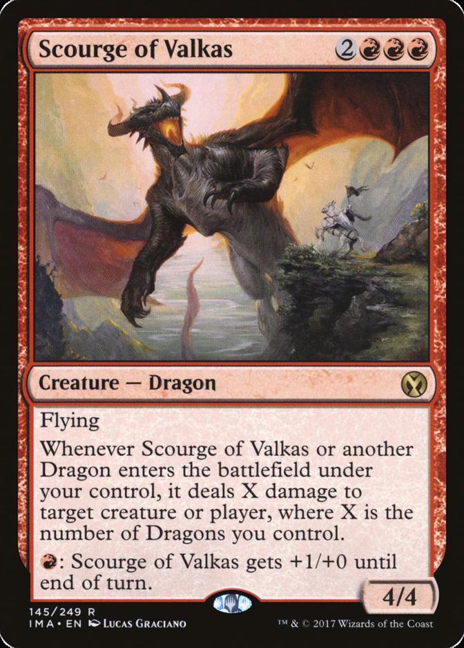 Scourge of Valkas [IMA] (F)