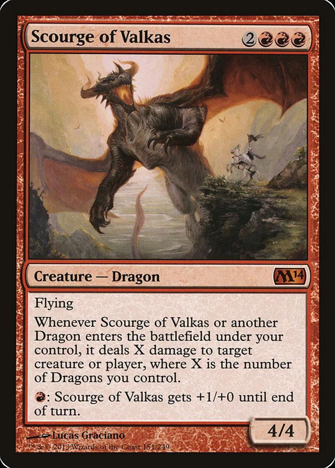 Scourge of Valkas [M14]