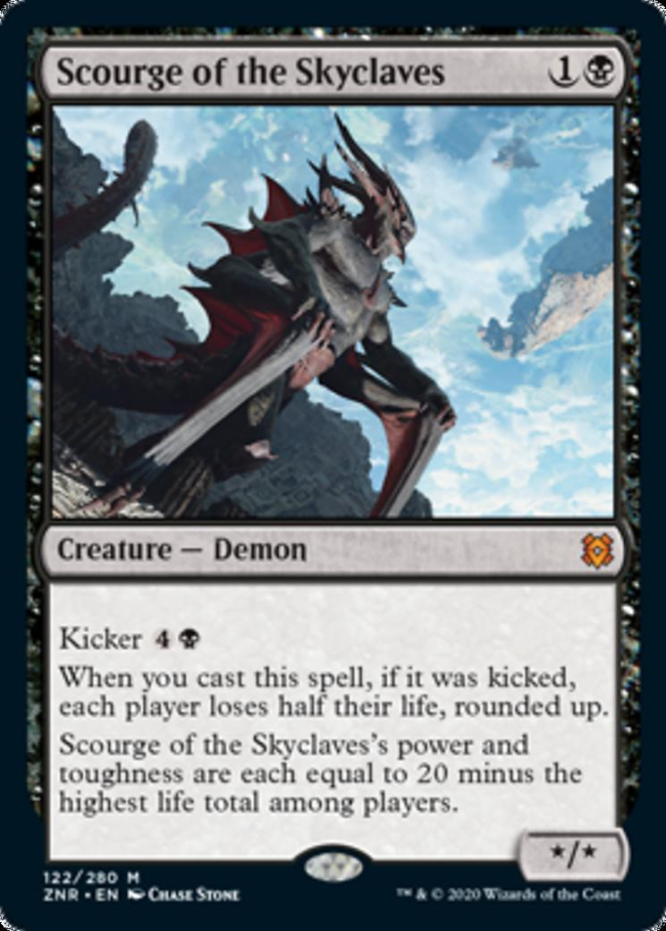 Scourge of the Skyclaves [ZNR]