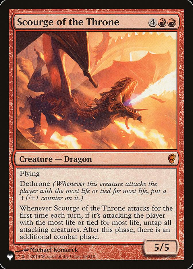 Scourge of the Throne [PLIST]
