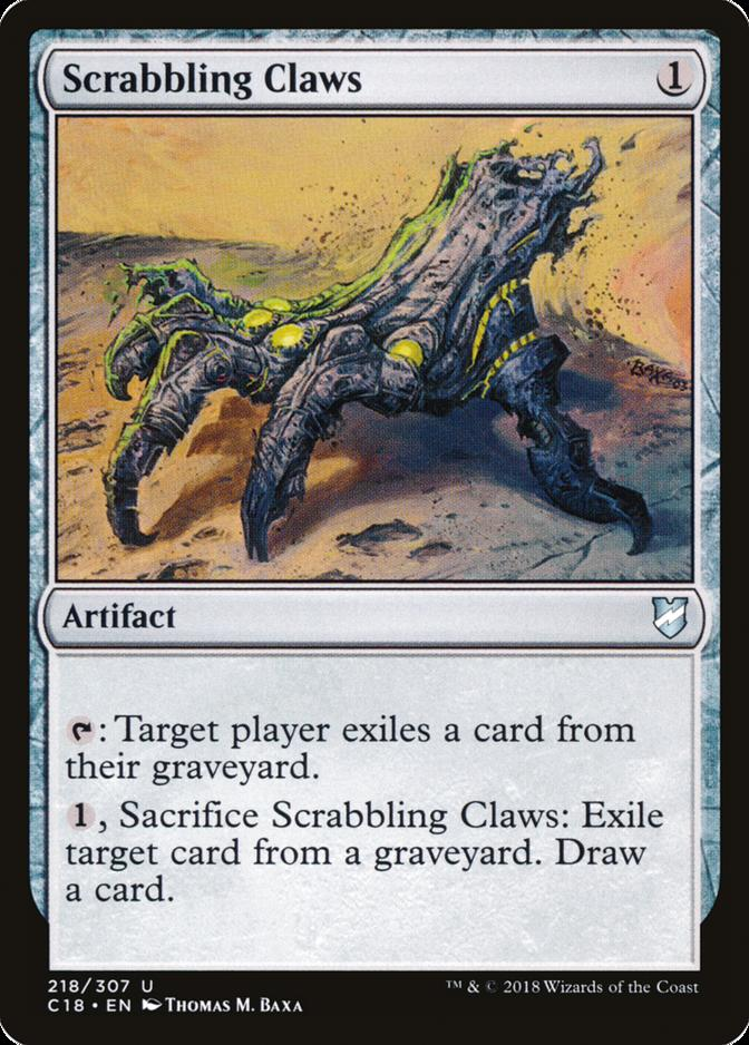 Scrabbling Claws [C18]