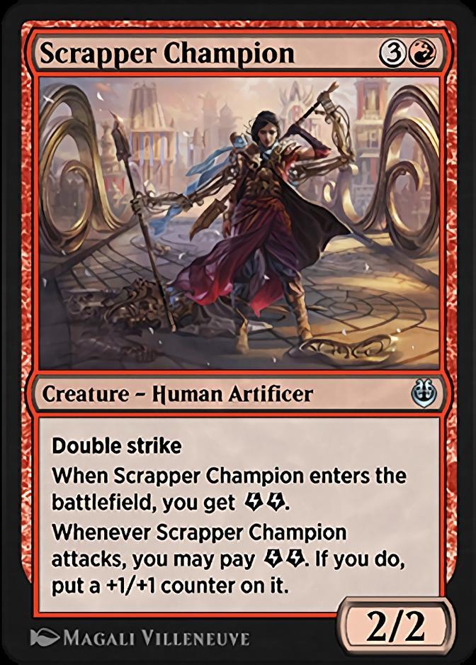 Scrapper Champion [KLR]